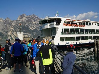 Lake Garda Ferry Boat
