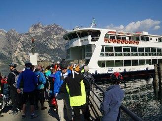 Lake Garda Ferry Boat