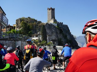 Skaliger Burg in Malcesine E-bke Travel