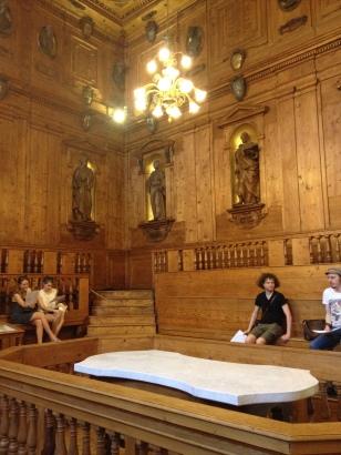 Anatomiesaal Palazzo Archiginnasio