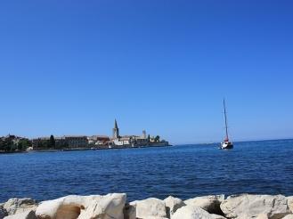 croatia istria porec panorama
