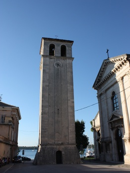 Cathedral and bell tower - Pula (Pola) Istria Croatia Adriatic