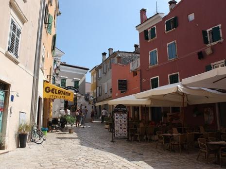Small street in Rovinj