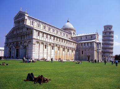 The Campo dei Miracoli in Pisa, or the Square of Miracles, was proclaimed a World Heritage Site by UNESCO