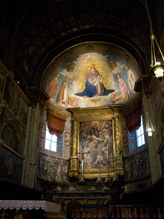 Interior of Cremona's Cathedral