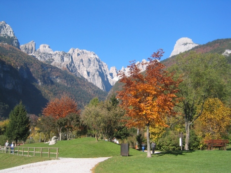 Autumn on Lake Molveno
