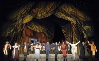 Concert hall of the theatre la Fenice in Venice, Italy