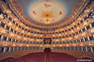 Concert hall of theatre La Fenice, Italy