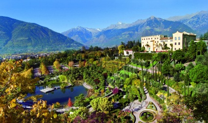South Tyrol's most popular attraction, situated in Merano