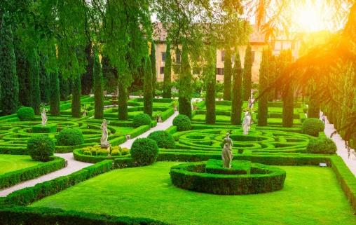 A beautiful Renaissance Garden in the heart of Verona