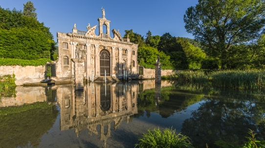One of the finest examples of baroque gardens of the world