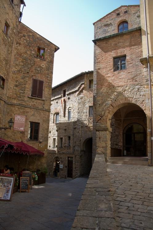 Hilltop town Volterra