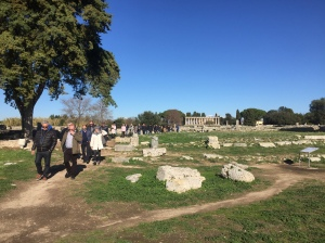 Temples on the site of an important Greek city in Campania