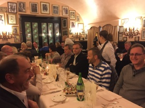 The exquisite italian cuisine